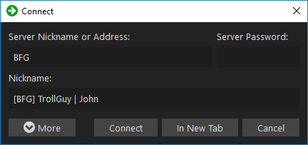 how to connect to teamspeak server